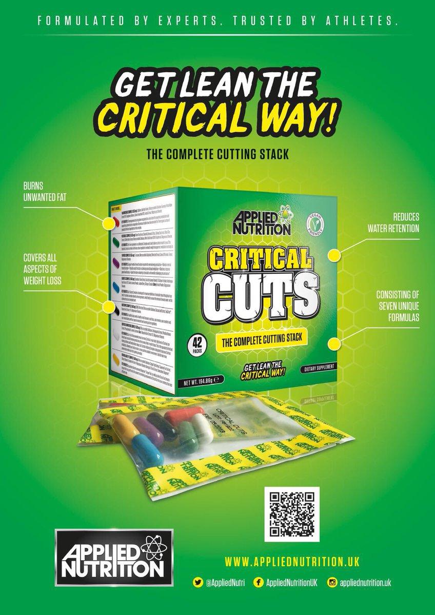 Znalezione obrazy dla zapytania applied nutrition critical cuts