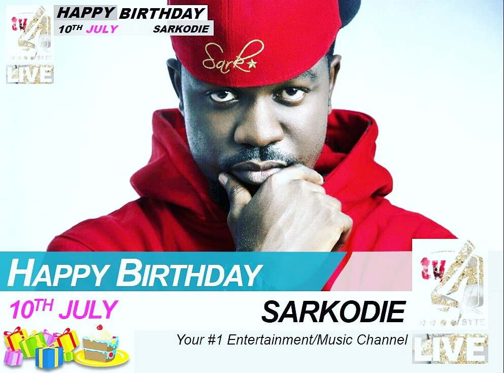 Happy Birthday #KingSark @sarkodie... have a good one champ!!