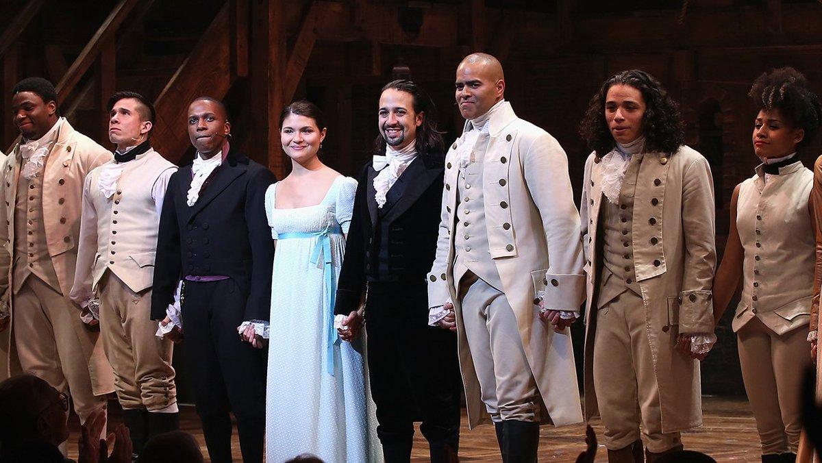 Watch Hamilton S Original Cast Takes Their Final Curtain