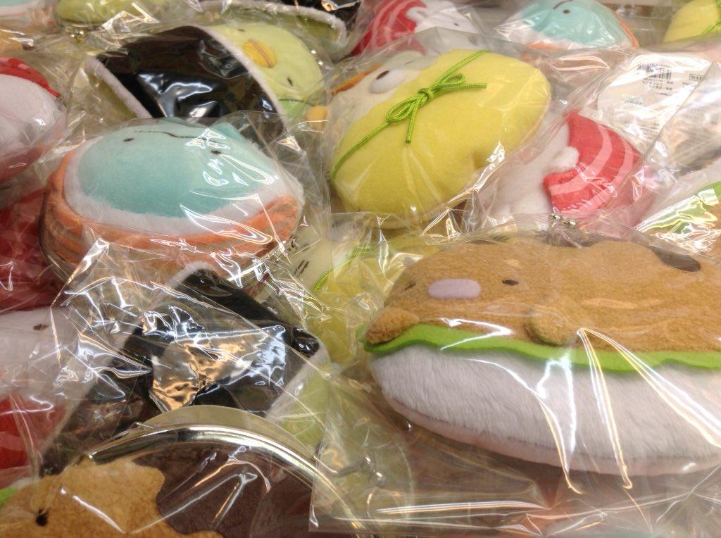 アポロゲームセンター沖洲 on Twitter \u0026quot;【プライズ新着情報】美味しそう\u2026と、思ったらすみっこぐらしのキャラクター達でした!! お寿司になりきった(?
