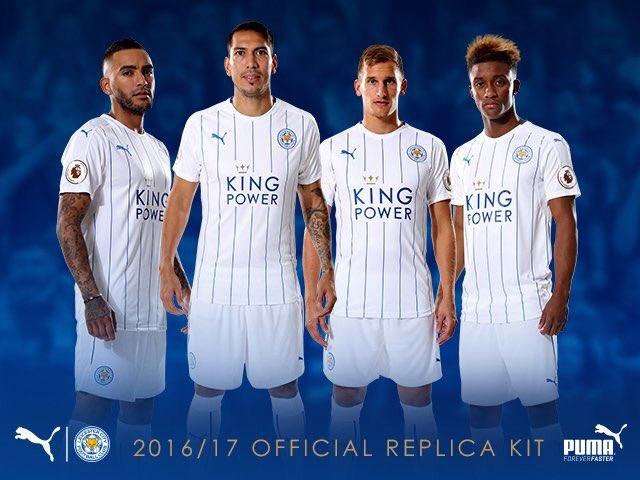 Pic: Leicester launch white alternative away kit by PUMA