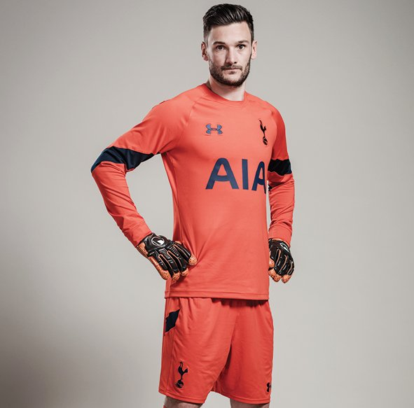 70ee74686 Hugo Lloris modelling the new Spurs home and away goalkeeper shirt for the  2016-17 season.  THFCpic.twitter.com BaCuwvg8Jl. 12 58 AM - 8 Jul 2016