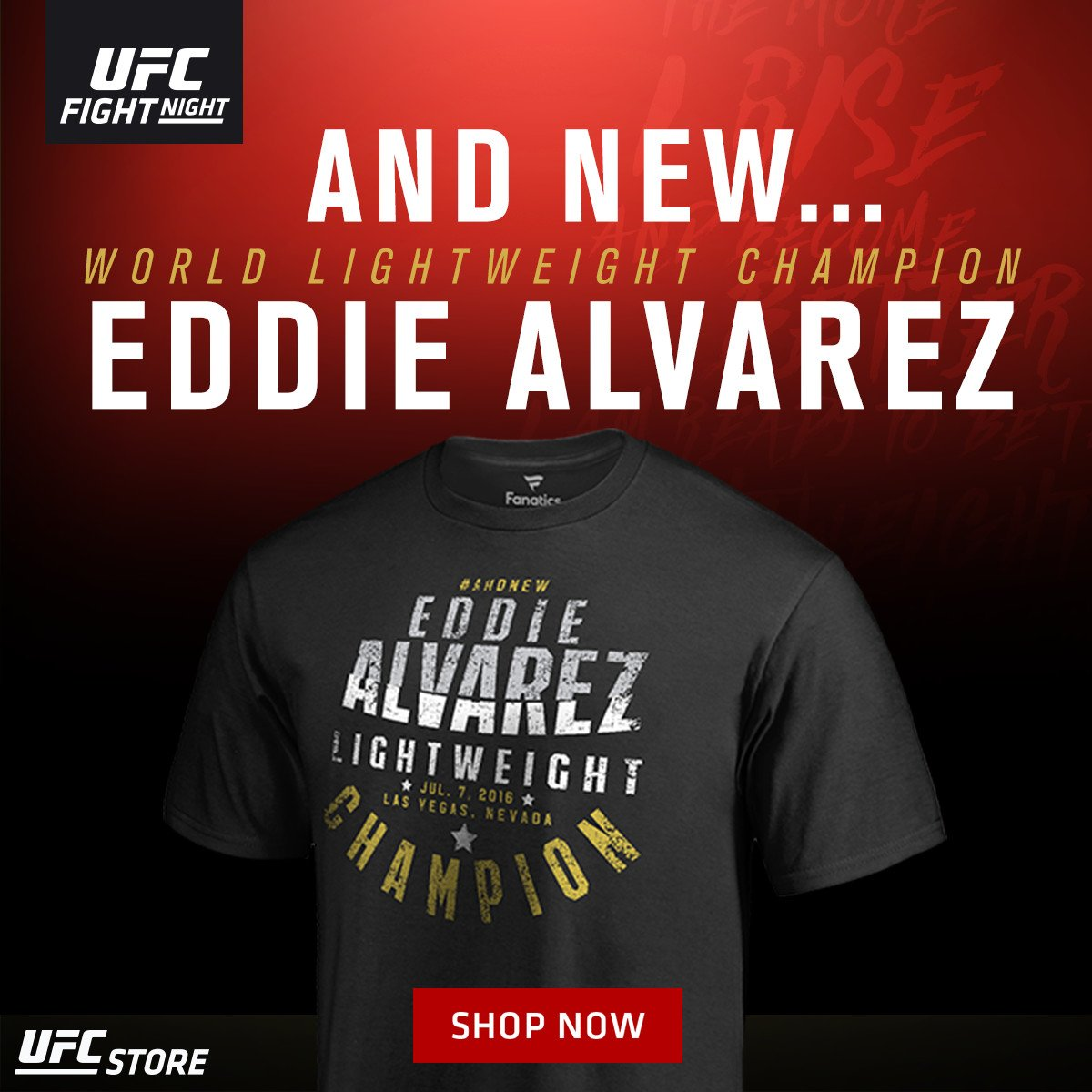 Shop UFC Clothing and MMA Gear from the Official UFC Store. UFC Store have the largest selection of UFC Apparel, including MMA Fight Shorts, T-Shirts, Hats and Sweatshirts. Offers apparel, DVDs, games, fight gloves, training equipment, accessories, and collectibles.