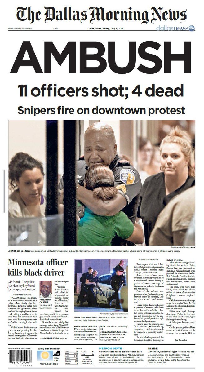 dallas morning news on twitter the front page of friday s dallas