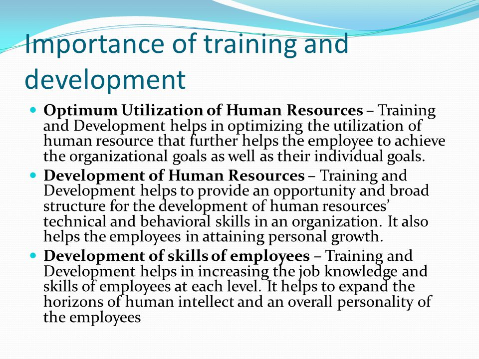 importance of planning in human resource management