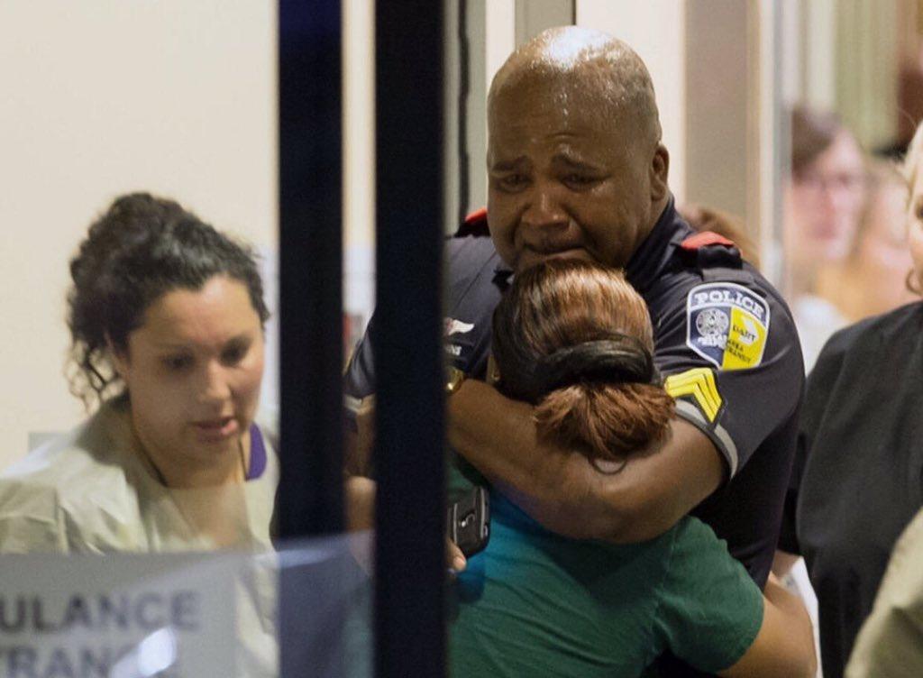 Broken hearts all are the same color. #Dallas https://t.co/fBbarR00Oy
