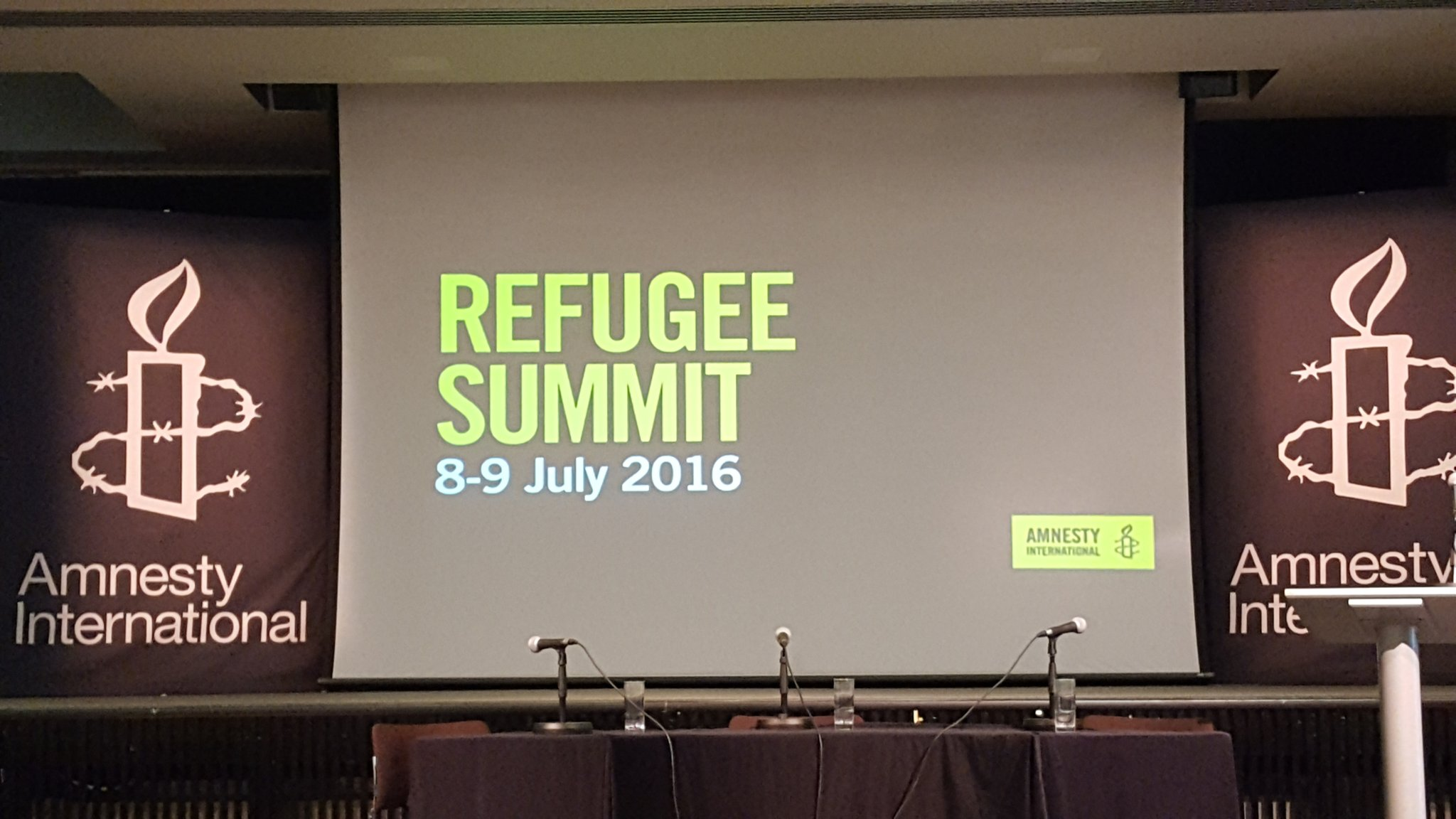 Thumbnail for Amnesty International UK Refugee Summit
