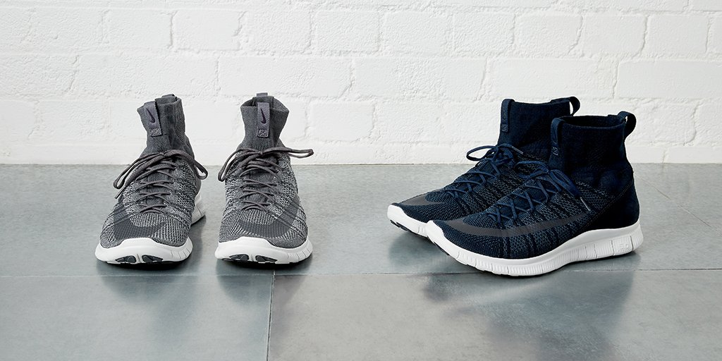 c42bbce0ed7a the nike free flyknit mercurial superfly sneakers have just landed in  obsidian and grey