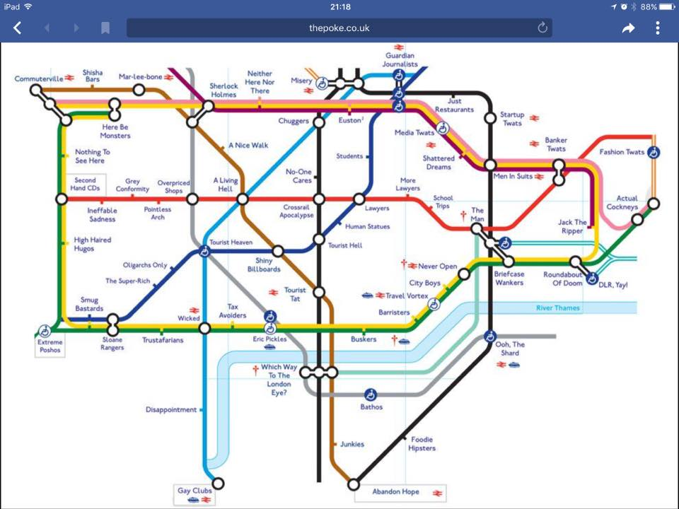 Simplified Map Of London.Adam Lilley Fbpe On Twitter Following On From The Simplified Tube