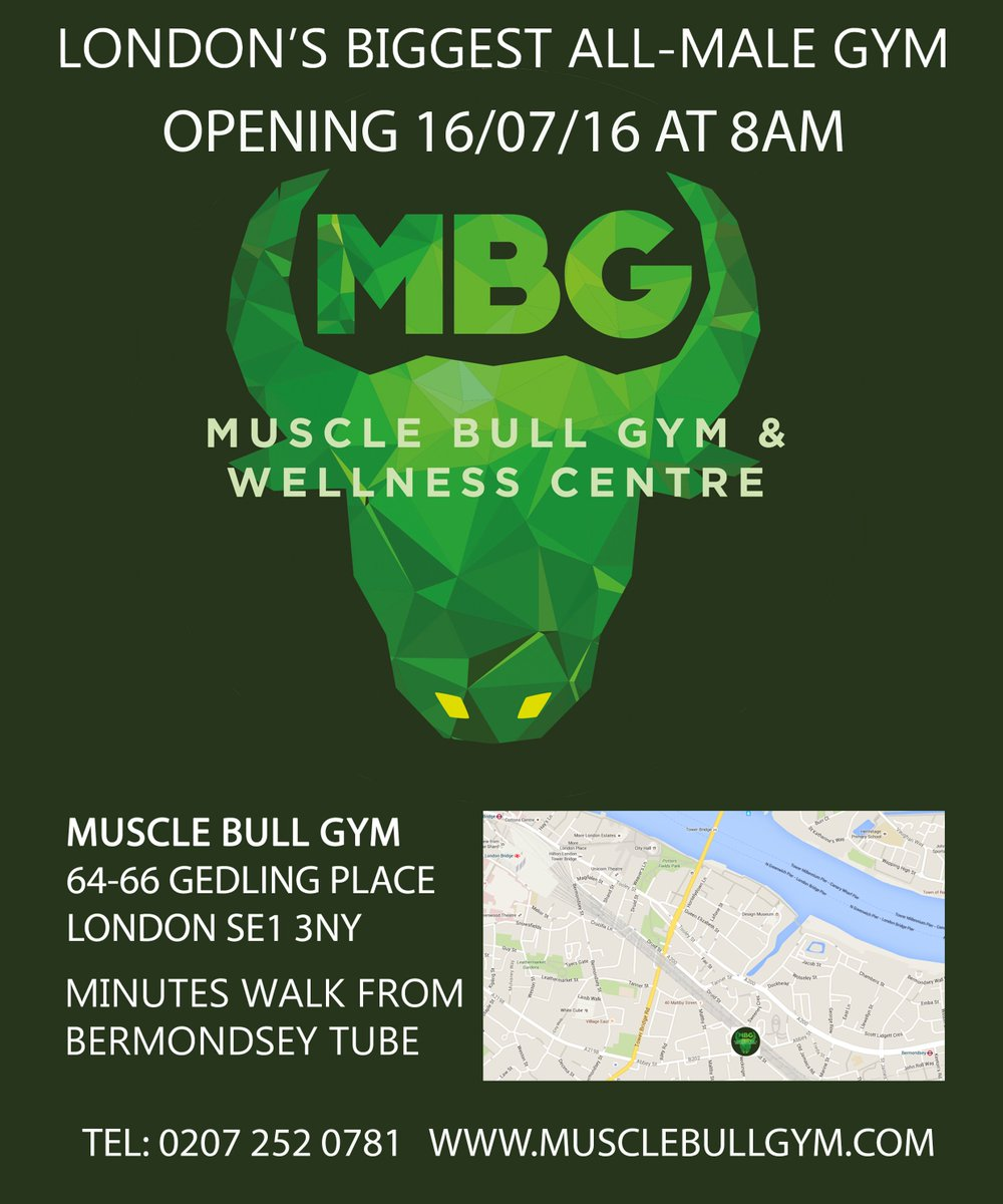Muscle Bull Gym on Twitter: