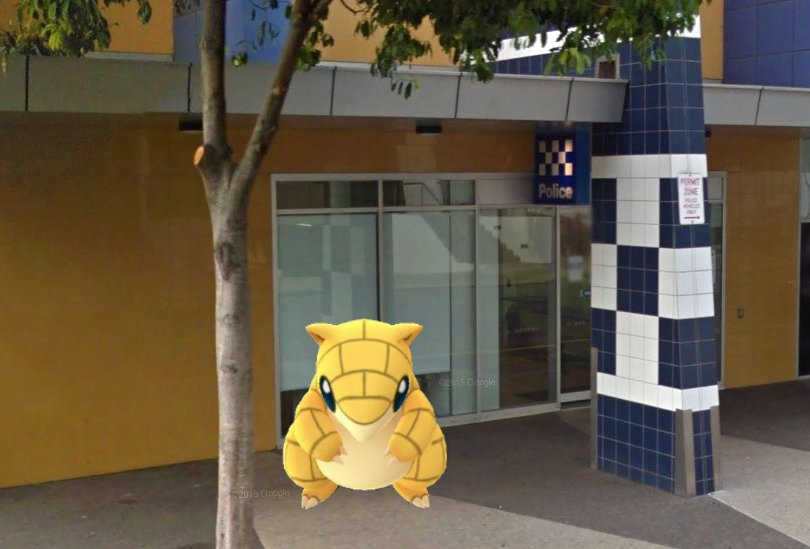 Police ask #PokemonGO players to stop trying to catch Sandshrew in Darwin police station https://t.co/WpaLO9Ym4f