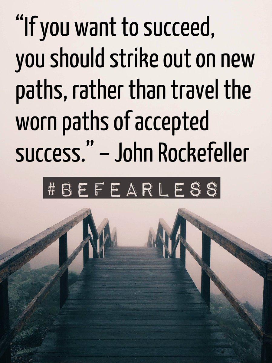 John Rockefeller was born on 7/8. Today, we share his #BeFearless words. #FearlessFriday https://t.co/5zewmWlNDz https://t.co/uHipahkgJh