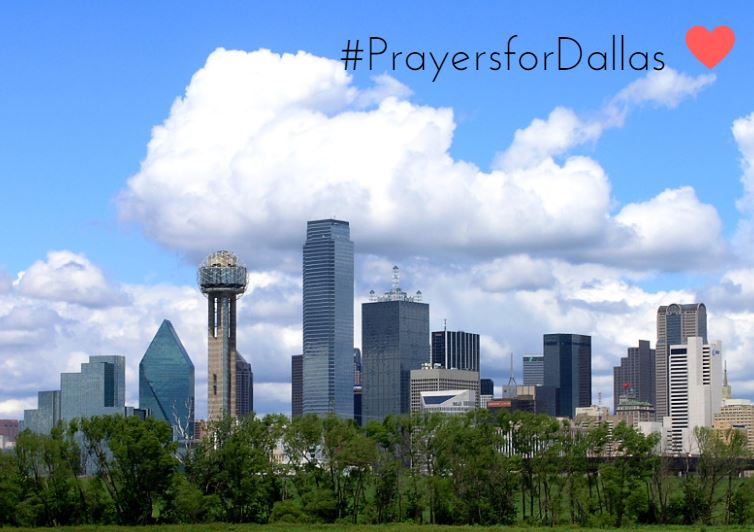 We are grieving with #Dallas today. Our sincere sympathy and heartfelt condolences for all the lives loss. https://t.co/ykaxETNjTt