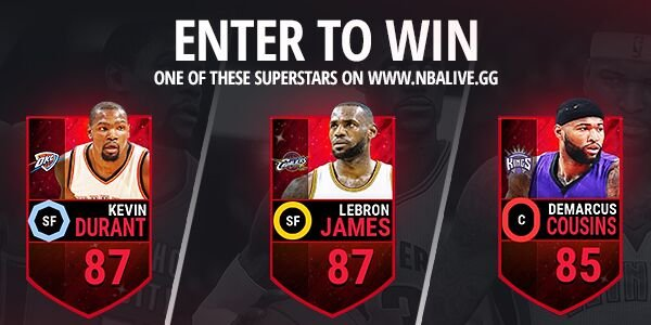 "NBALIVE.GG on Twitter: ""Enter to win a Superstar in NBA ..."