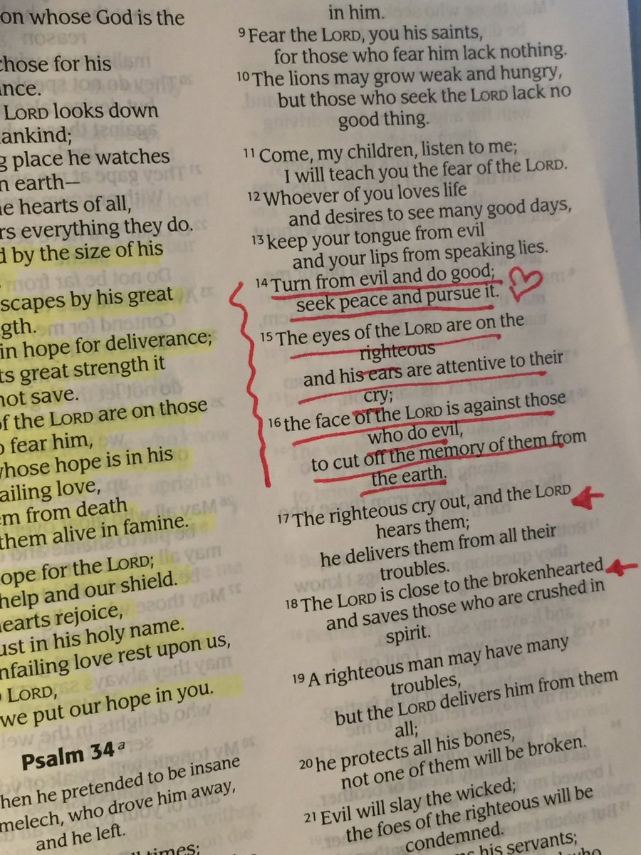 If praying 4 #Dallas feels new to u but you still want to try, pls just read Psalm 34 aloud. Simple cry for peace.
