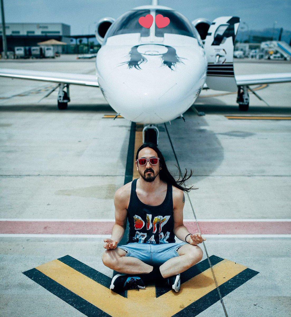 #zenaoki #30. The #AokiJet #ILYSM day of release zen vibes. Mallorca Airport. July 8, 2016.