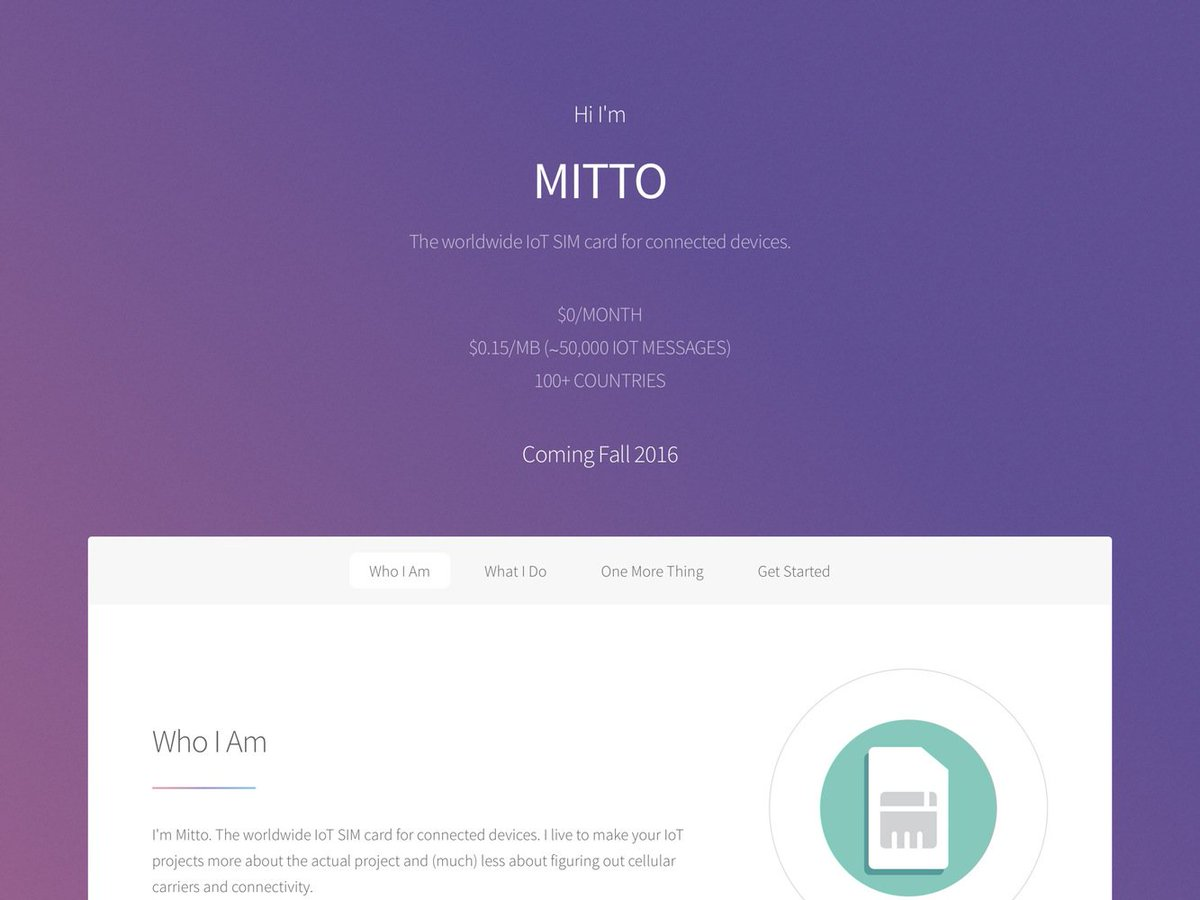 Mitto: The worldwide IoT SIM card for connected devices – BetaList
