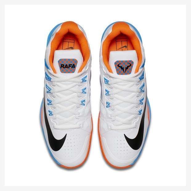 ec6a1508052 Rafael Nadal s Nike shoes for US Open 2016 (day session)pic.twitter .com qp9bwJ0uC4