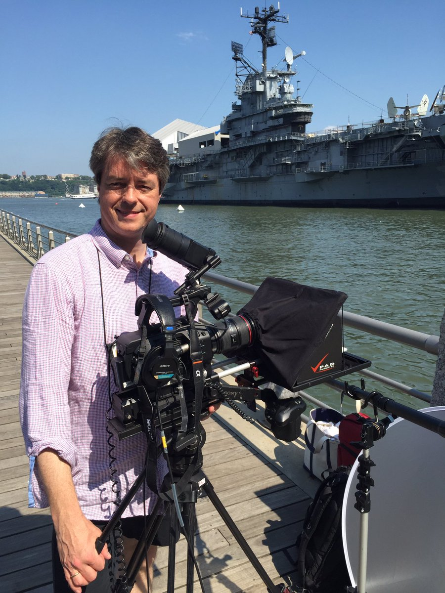 Filming in NYC today Defense News Navy Federal Money Minute