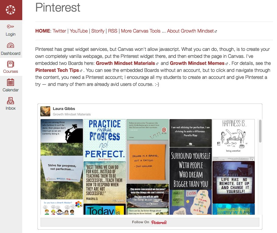 magic of live content: Pinterest in Canvas! public course, just click, no log-in: https://t.co/e4BKZzTIoz #OU2Canvas https://t.co/IKcYkupglg