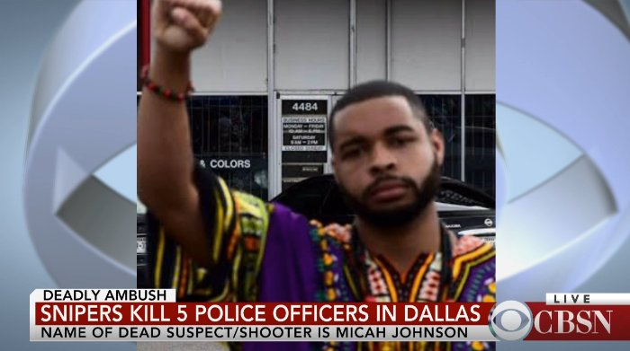 NEW: Photo shows #Dallas shooting suspect ID'd as 25-year-old Micah Xavier Johnson https://t.co/ImEtSSNmRf