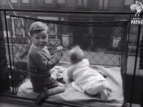 atlas obscura on twitter when babies used to play in cages hanging
