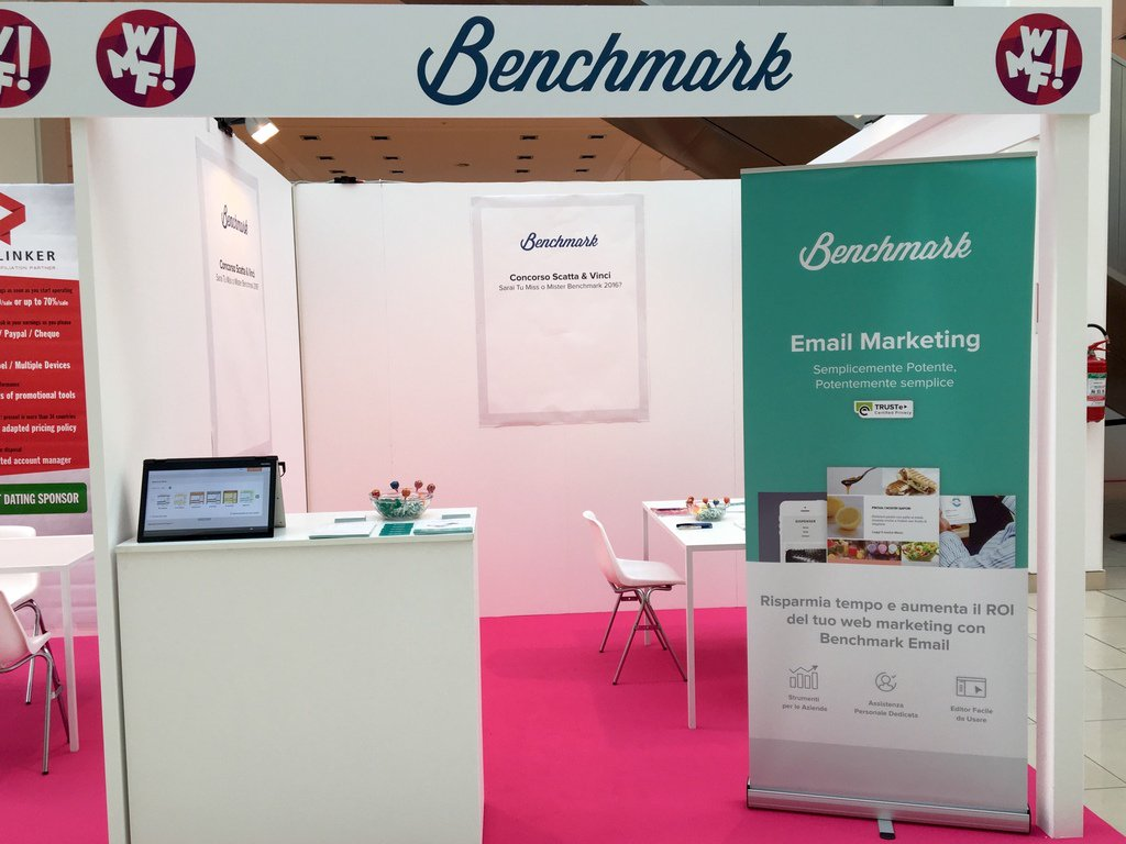 Made some new friends at the @ilfestival in Italy this week while talking email marketing at the Benchmark booth. https://t.co/EJKZlfAKTp