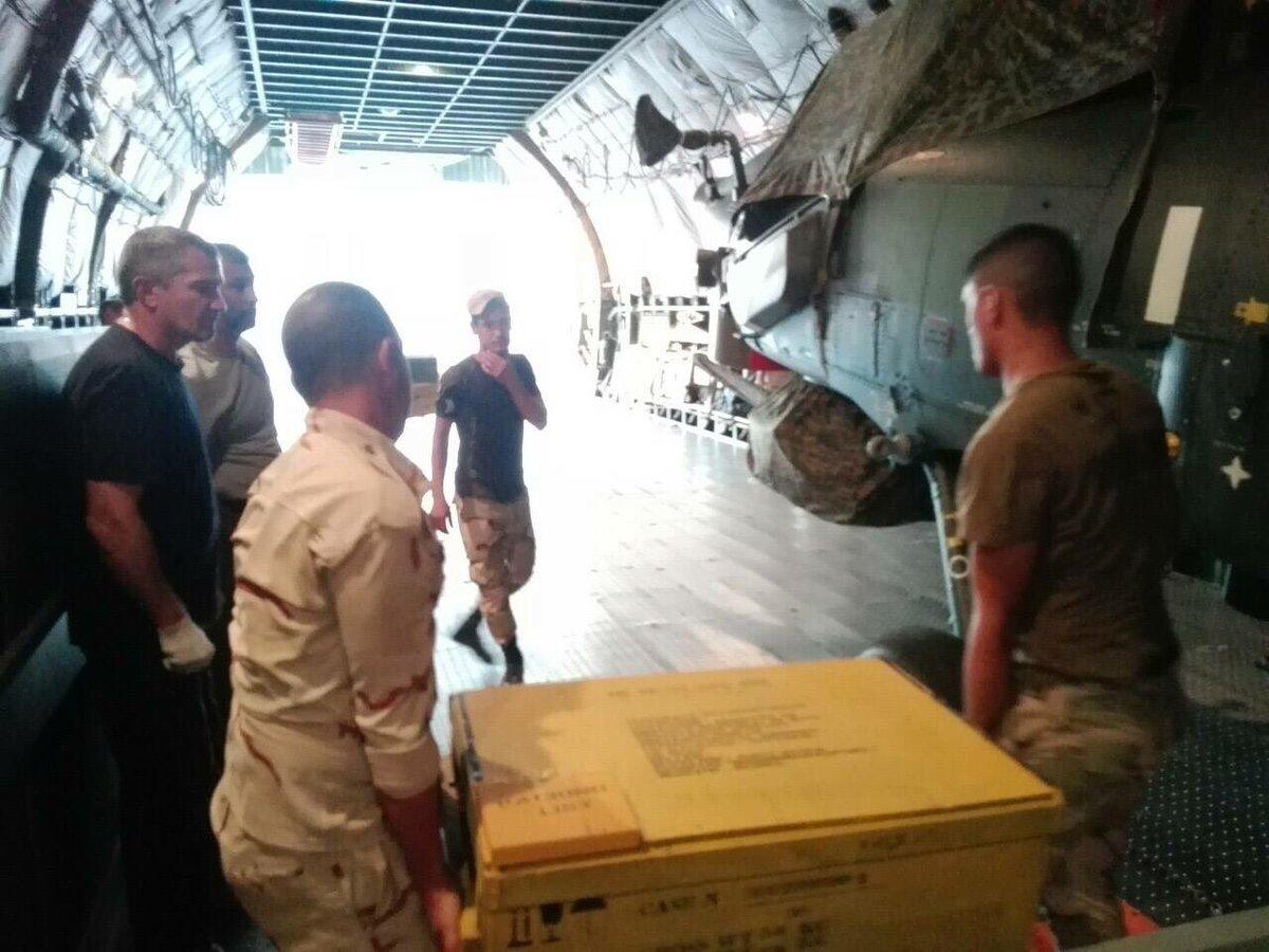 قيادة طيران الجيش تتسلم وجبة جديدة من طائرات mi28 Cm3Sr0GWYAAznBf