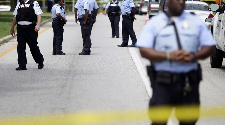 Update: #Missouri officer was shot from behind, #Georgia officer was lured by fake 911 call. https://t.co/4Gog02JVTh