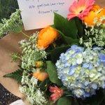 #flowers4cops #blacklivesmatter #bluelivesmatter