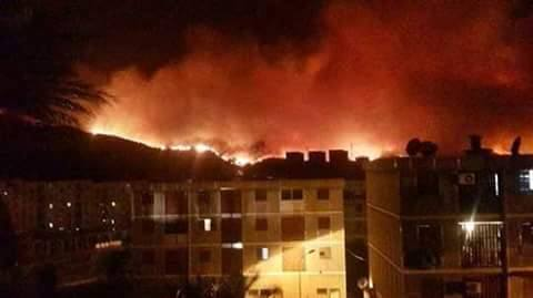 Boumerdes ... NOW !! #Algerie #FeuxDeForets  #Fire #TeamAlgerie #الجزائر <br>http://pic.twitter.com/0lSe6eRLyD