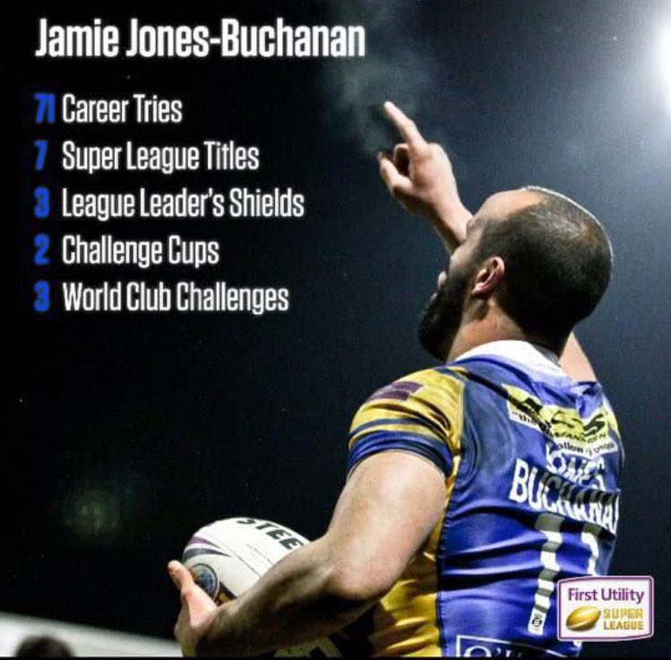 It's an honour to pack down wit JJB on his 350 game for @leedsrhinos,one of the greatest men I've met in my life..