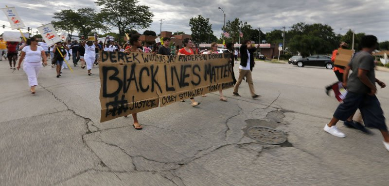 Thumbnail for Protest in Wauwatosa