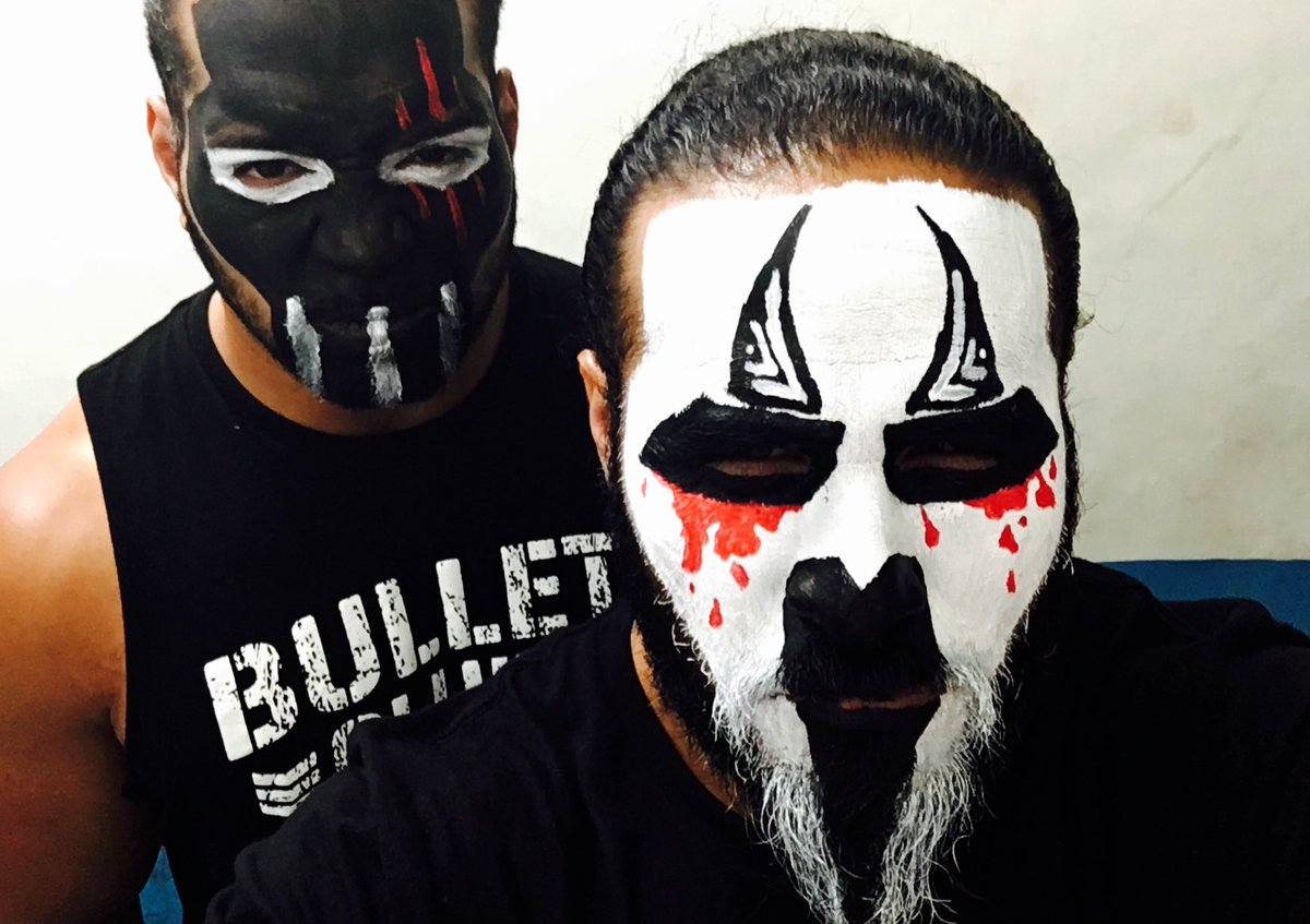 Image result for tama tonga backstage face paint