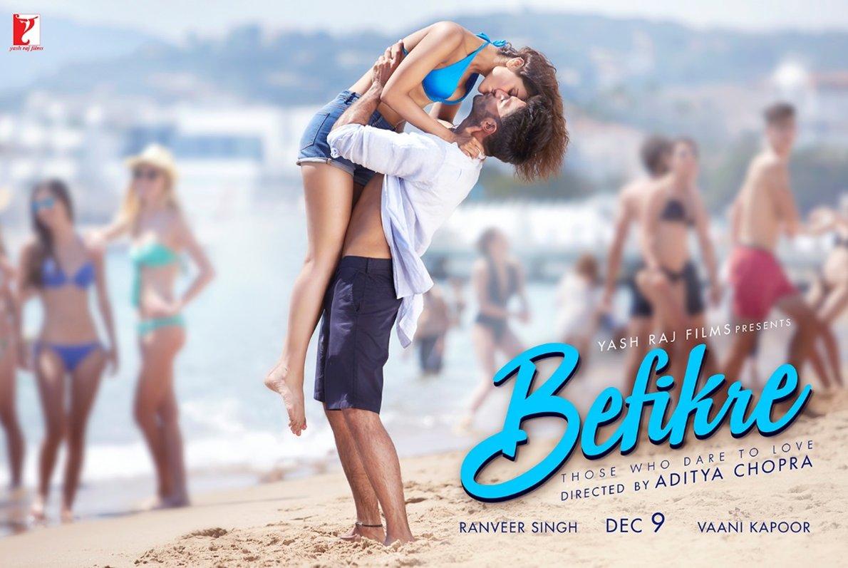 Befikre bollywood film new poster
