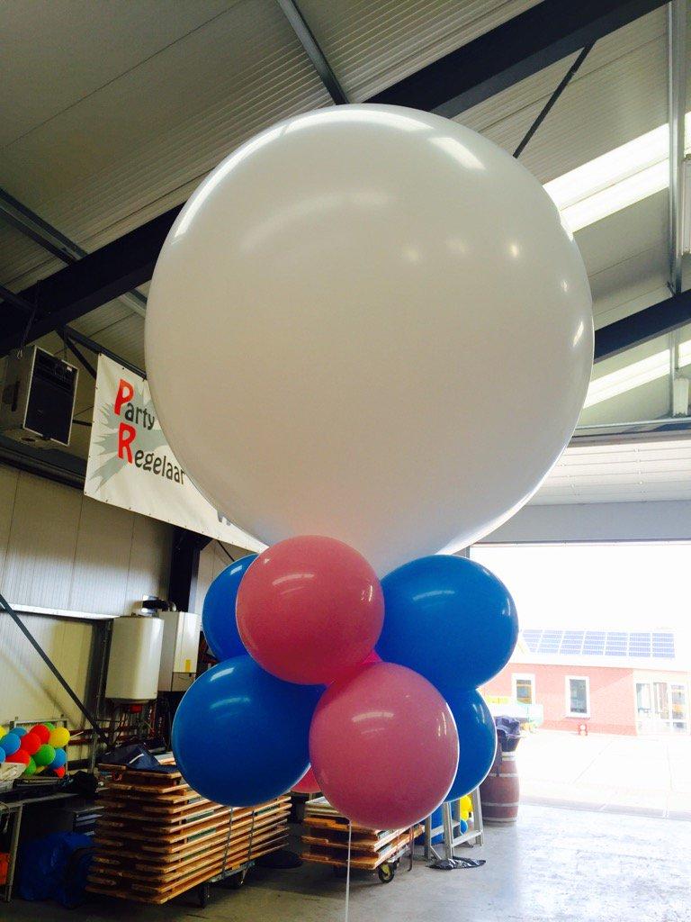 Wordt het een jongen of een meisje?? #ballondecoraties #partyregelaar
