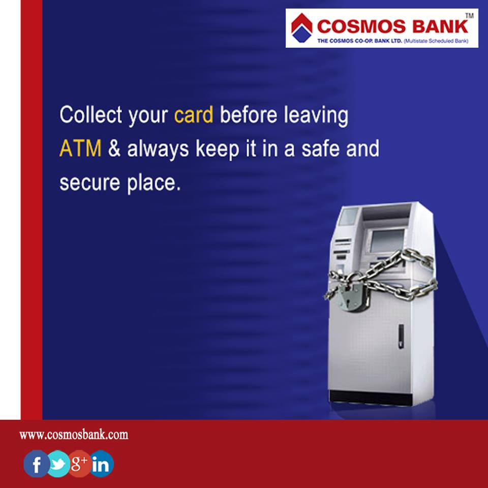 Cosmos Bank Pune on Twitter: