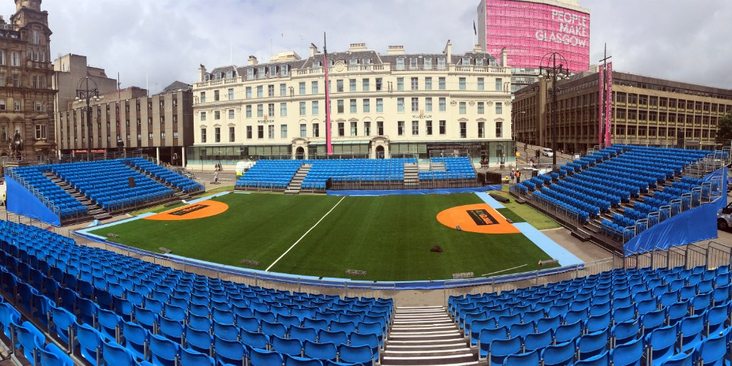 Here's where it all starts tomorrow - Pitch 1 at 12:30 for the Opening Ceremony & opening game at 1pm #HWC2016 https://t.co/2ZXhg777Ld