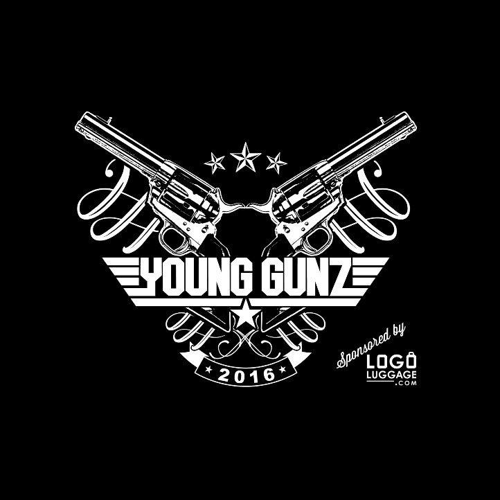 Young Gunz Logo Kingston Elite Cheer (...