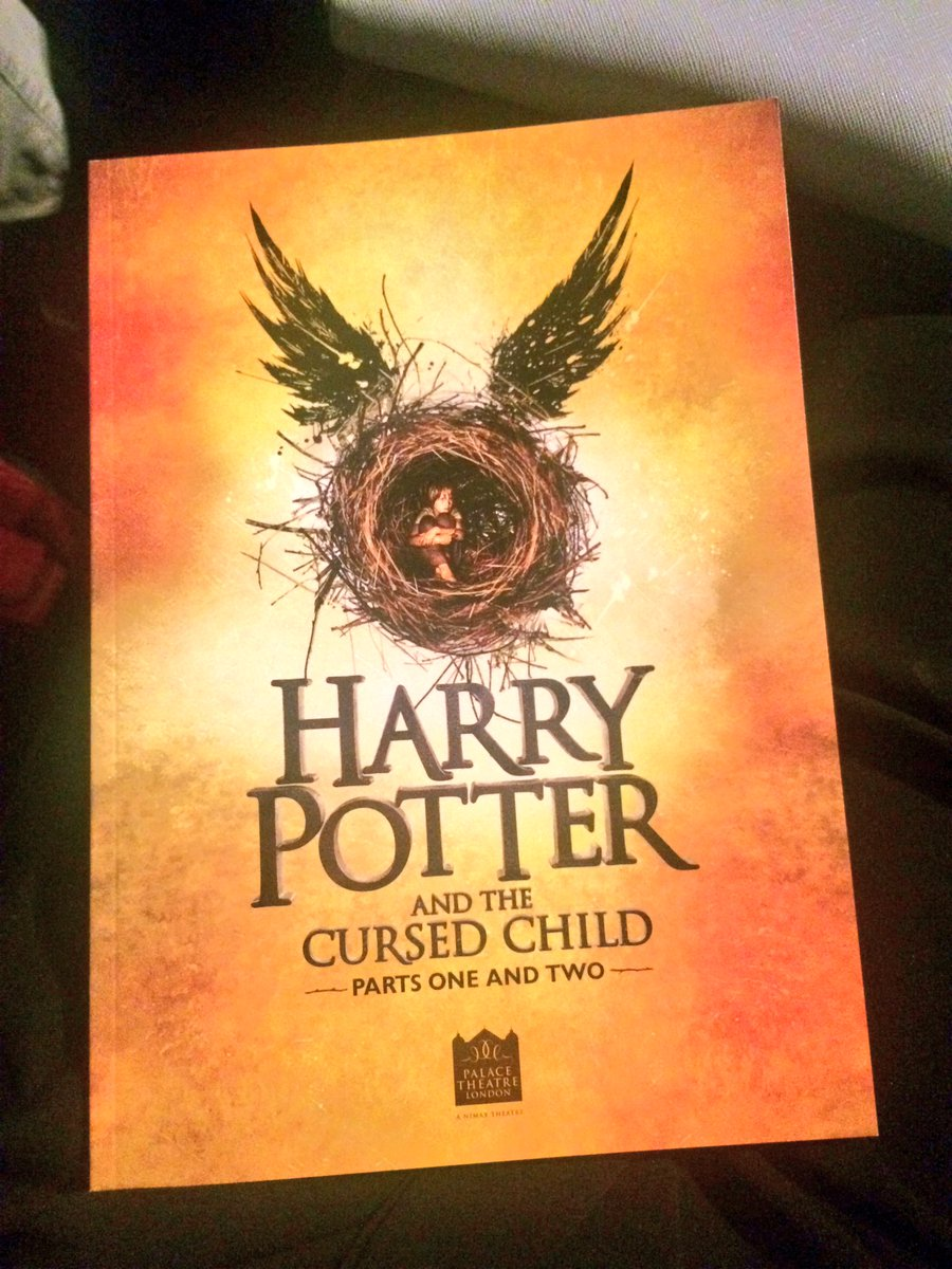 We're ready for a day of Harry Potter! Can't wait to see it! @sam_clemmett @JHowardActor #MoragCross #NicolaAlexis