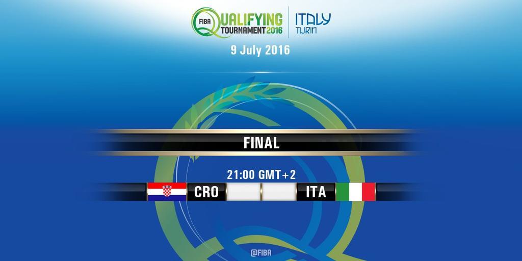 Vedere ITALIA CROAZIA Basket Diretta Streaming gratis VIDEO Rojadirecta Oggi 9 luglio 2016
