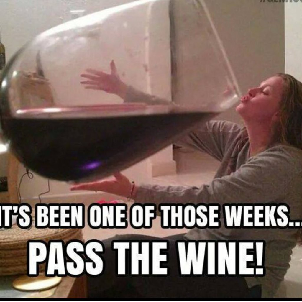 It&#39;s been one of those weeks! Pass the #wine #winelovers!! #wineoclock <br>http://pic.twitter.com/IGg8QLk2Ca