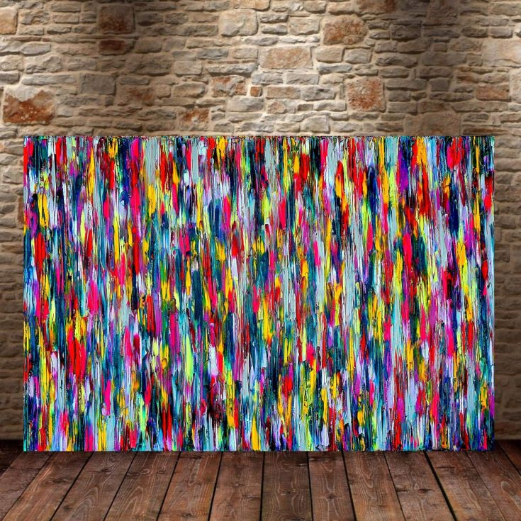 40% OFF! All In #43, 90 x 60 cm -36 x 24 in by @CarlaSaFe via @artfind...