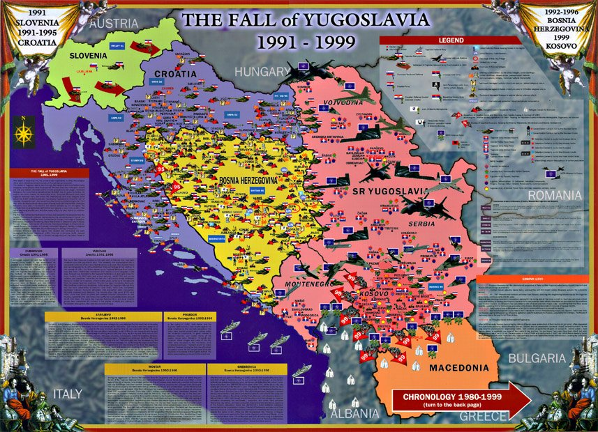 Fama Methodology On Twitter Raspad Jugoslavije 1991 1999 Fama