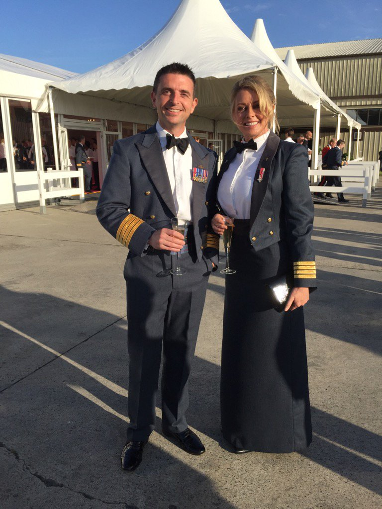With one of everybody's favourites @Godderstwit last night at Gala dinner @airtattoo.... X https://t.co/cxd5QvlSim