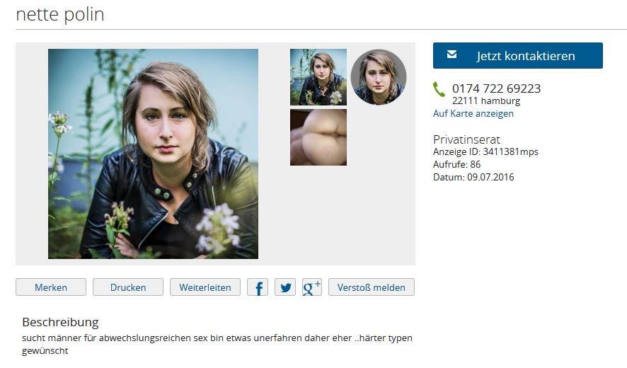 Local24.de sie sucht ihn hamburg