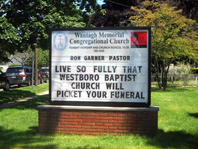 Church Sign of the Week! https://t.co/T6D5cwNXur