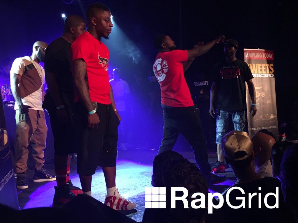 URL: Unfinished Business 2 Live Coverage | Rap Grid