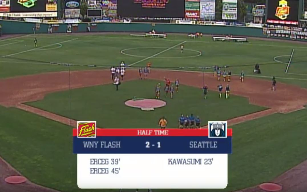 nwsl ridiculed after match is played on tiny pitch in baseball