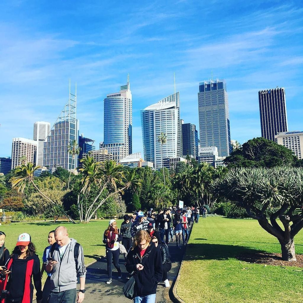 'Pokémon Go' fans take over downtown Sydney in search of Pikachu